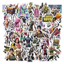 52 Pcs/Pack 104 Pattern Selection Fortnight Graffiti Sticker
