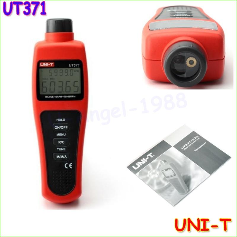 UNIT UNI-T UT371 Non Contact Optical Digital Tacho Meter Tachometer 10 to 99999 RPM  цены