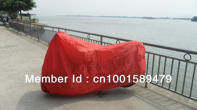 High Quality Dustproof Motorcycle Cover  for Suzuki TS DR DRZ 400 650 Dual different color options
