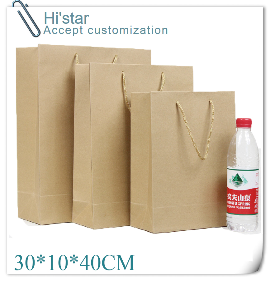 Brown Paper Shopping Bags Wholesale Promotion-Shop for Promotional ...