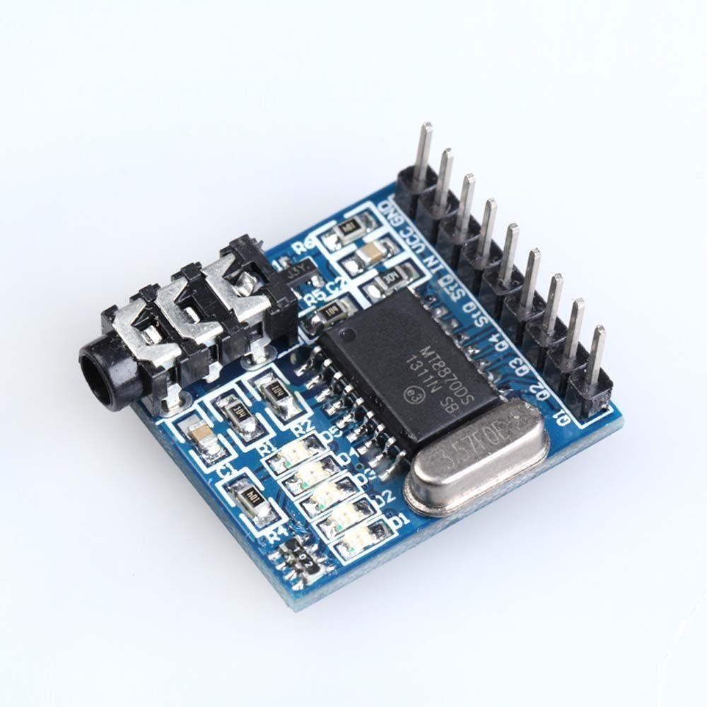 1pcs Mt8870 Dtmf Decoder Module Voice Telephone New In Circuit Replacement Parts Accessories From Consumer Electronics On Alibaba Group
