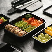 Japan style bento box adult fitness food boxes microwave lunch box