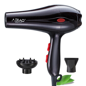 ABIAO Home Hot and Cold Big Wind Dark Brown 1600W Hair Dryer