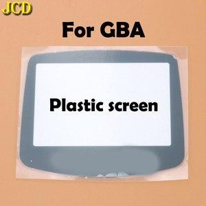 Image 3 - JCD 1 個プラスチックガラススクリーンのための GBA ゲームボーイアドバンス用レンズ W/ adhensive