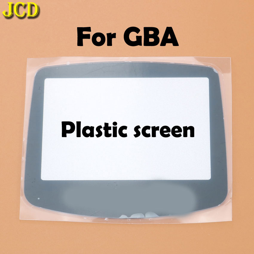 Image 3 - JCD 1Pcs Plastic Glass Screen Lens cover For GBA Screen Glass Lens for Gameboy Advance Lens Protector W/ Adhensive-in Replacement Parts & Accessories from Consumer Electronics