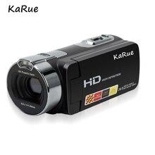 karue HDV-312P Mini 2.7 Inch Digital Cameras  Video Camcorders DV 270D Rotating LCD Screen Shoot Cameras Portable EU Plug