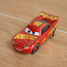 Disney Pixar Cars 3 Newest Gold Lighting McQueen Jackson Storm Cruz Ramirez Mater Metal Alloy Model Car Kid The Best Gift(China)