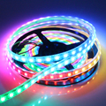 WS2812b  DC5V Pixel RGB color led strip, 5meters 150LED 150IC SMD5050 IP67 Waterproof in SiliconTube