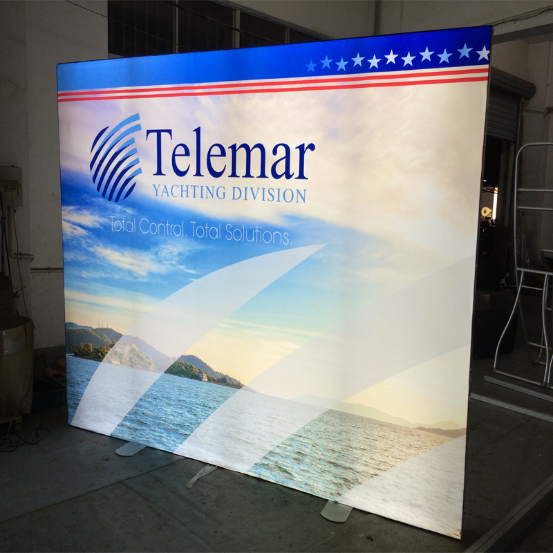 Led Light Box Stand Banner Trade Show