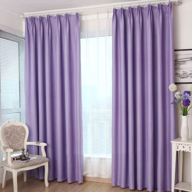 cortinas roxas