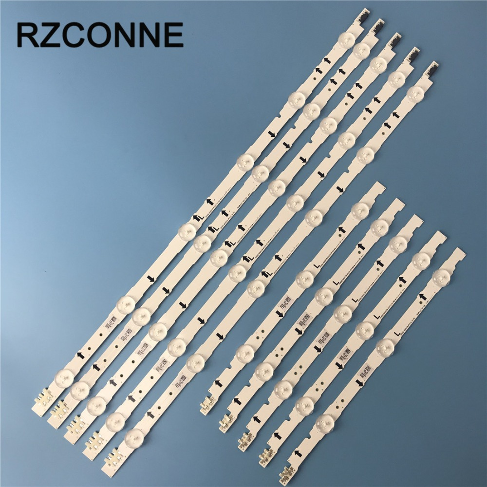 10pcs LED Strip D4GE-400DCA-R2 D4GE-400DCB-R2 BN96-30449A BN96-30450A For SamSung 40'' TV UE40H5270 UE40J6240AK UE40J5600