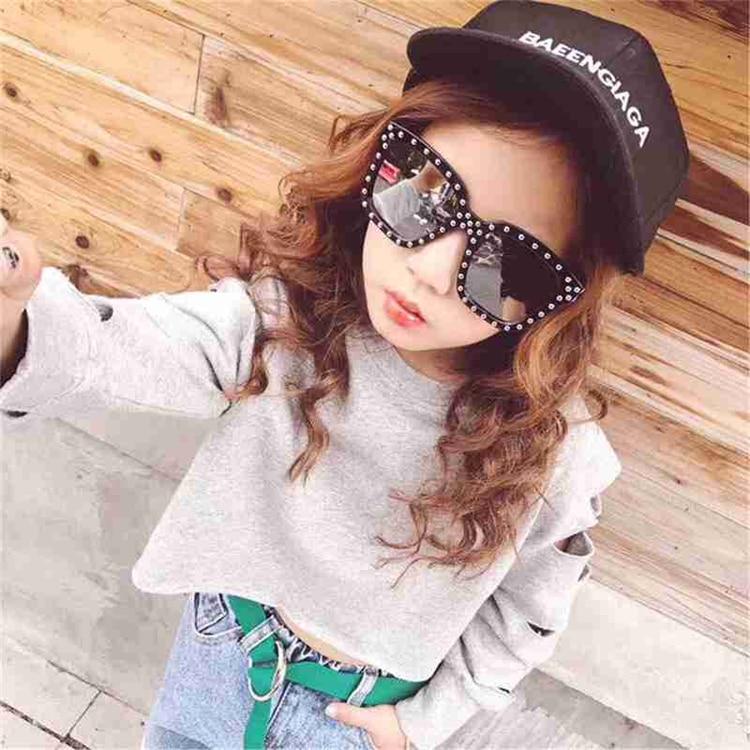 Diamond  Kids Sunglasses Children Sun Glasses Baby Eyeglasses Boys Girls UV400 Outdoor Decoration (8)