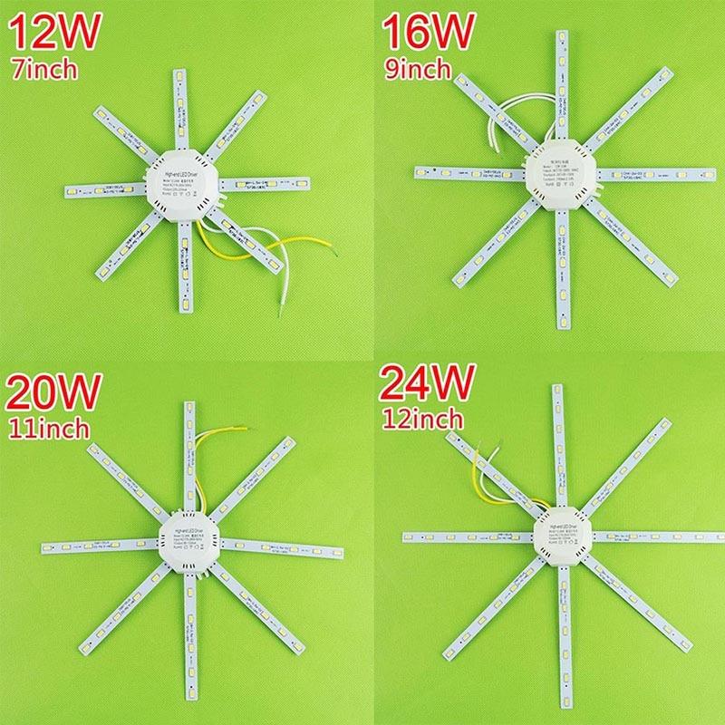 12 Watt 16 Watt 20 Watt 24 Watt Led Downlight Zubehör Octopus - Innenbeleuchtung - Foto 5