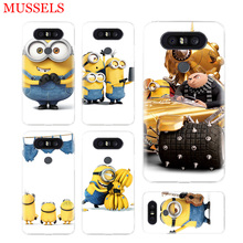 Minions Cute Cool Unique Phone Case For LG V40 G6 G7 Q6 Q8 Q7 G5 G4 V30 V20 V10 K8 K10 2018 2017 Patterned Cases Coque Shell one piece anime unique phone case for lg v40 g6 g7 q6 q8 q7 g5 g4 v30 v20 v10 k8 k10 2018 2017 patterned customized coque shell