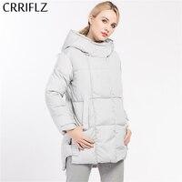 Fashionable Simple Women Coat Jacket Woman S Hooded Parka Warm Winter Coat Women Outerwear CRRIFLZ 2017