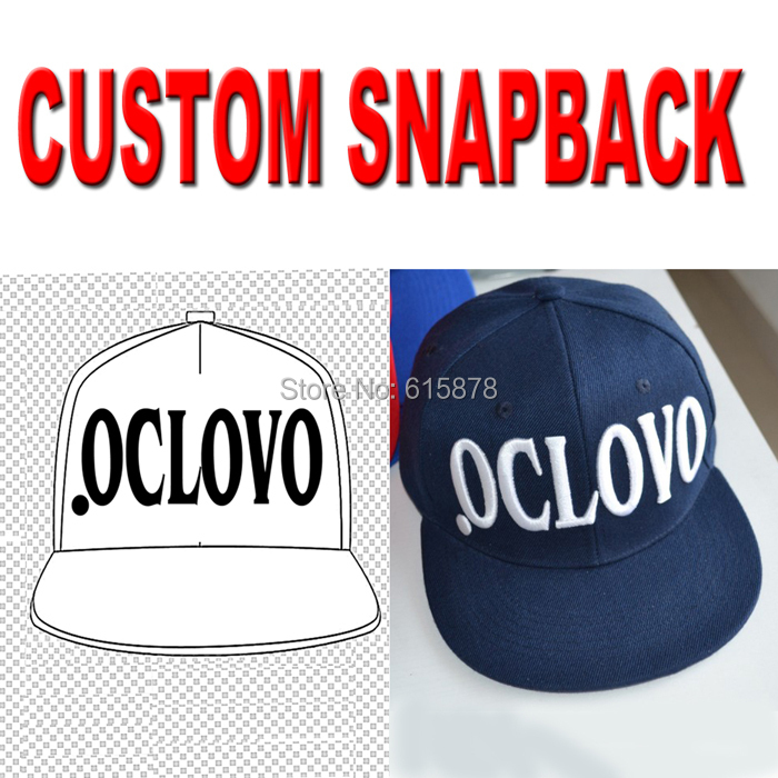 Custom Embroidered Snapback Caps Hats OEM Flat Bill Hats Wholesale Free  Shipping-in Baseball Caps from Apparel Accessories on Aliexpress.com  1157c482aed