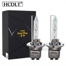HCDLT оригинальный HeartRay 45 Вт D2H ксеноновая галогенная лампа для фар 4800 к 5800 металлическое основание D2C D2S с печатной платой с провод для Биксеноновые линзы прожекторного типа