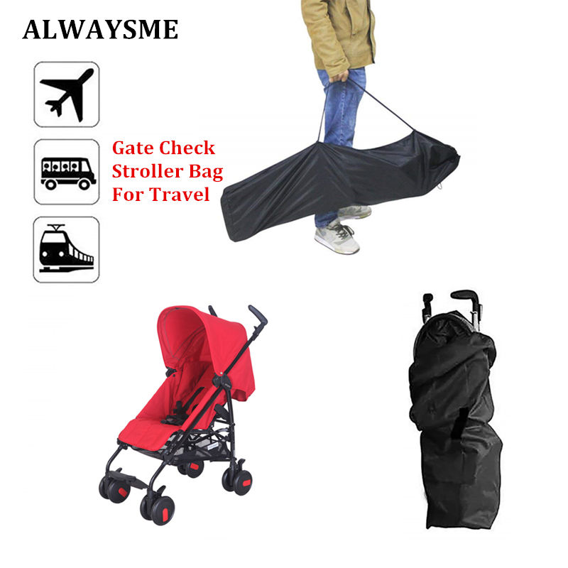 Alwaysme Baby Kids Gate Check Bag Stroller Travel For Umbrella Strollers Standard And Double Protection Two Size In Accessories From