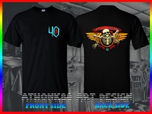 280e56b18 Powell Peralta Skateboard 40th Anniversary Winged Ripper T-Shirt OG  Skateboard(China)