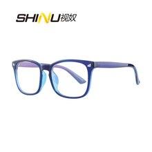 ป้องกัน Blue Ray Multifocal อ่านหนังสือแว่นตาผู้หญิงผู้ชาย Reader UV400 Antifatigue ดู Far ดูใกล้ Diopter แว่นตา
