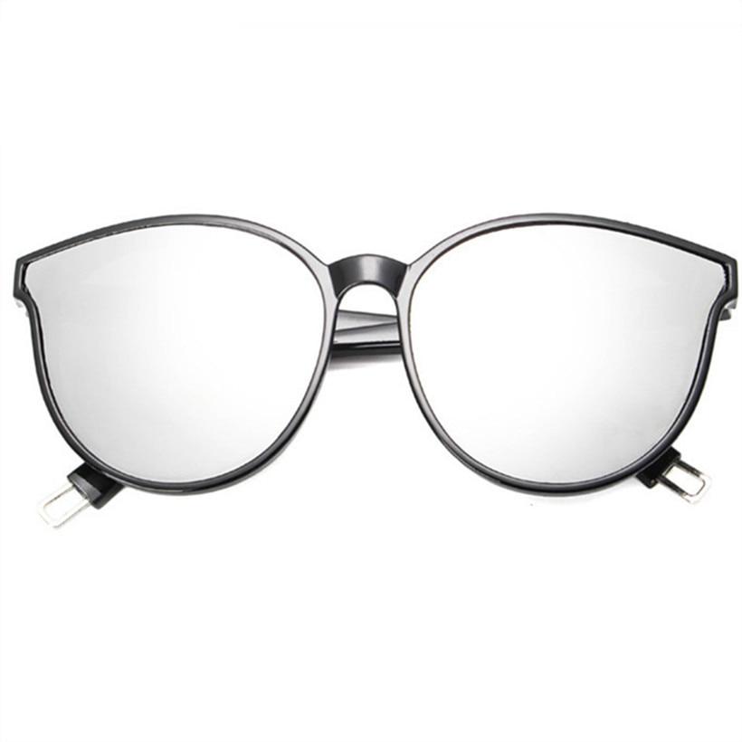 NYWOOH De Luxe Cat Eye lunettes de Soleil Hommes Couleur Flat Top Surdimensionné Lunettes de Soleil Femme Homme Vintage Sunglass Shades pour les Femmes