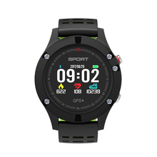 SMARTELIFE GPS Sports Smart Watch with Heart Rate Monitor Pressure Temperature Outdoor Cycle Running Smartwatch for Android iOS