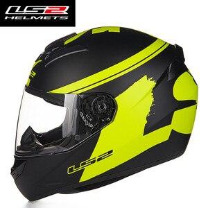 Image 3 - Casco de Moto LS2 FF352 de cara completa, diseño de moda, homologado por ECE DOT, para Moto