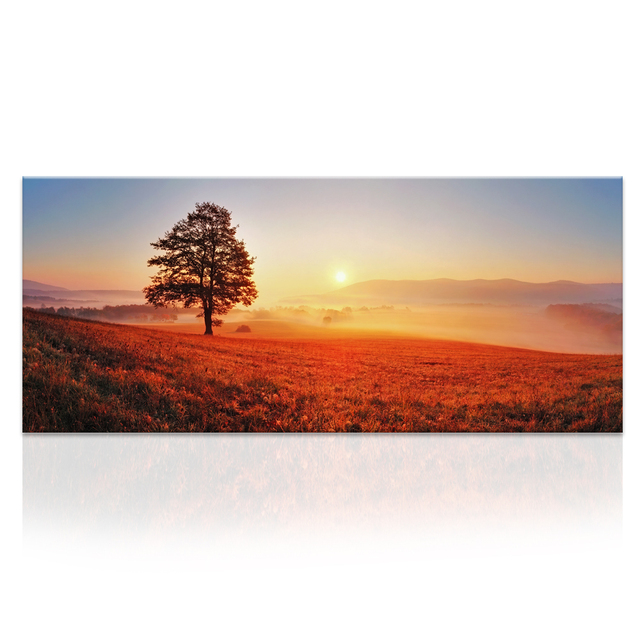 Wall Art Landscape Canvas Prints Four Seasons Painting Oil Painting Print  For Living Room Unframe Large