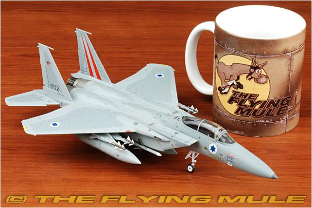 Witty 1:72 Israeli Air Force F-15C Eagle fighter model Alloy aircraft model