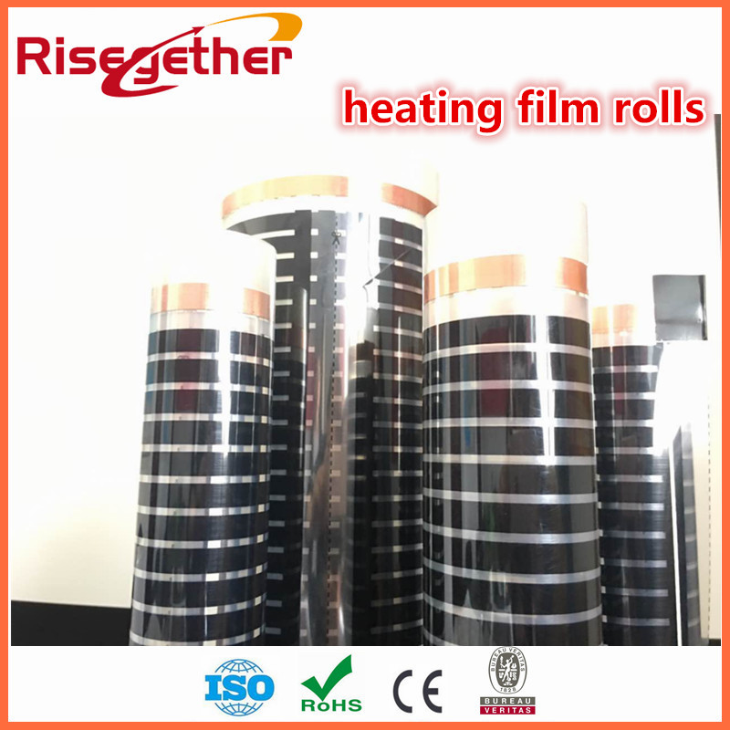 Energy saving high quality electric floor heating radiant underfloor heat warming infrared heating film frameless glass infrared radiant heating panels with image design limit copy energy saving glass electric heaters