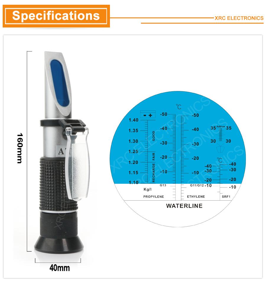 Antifreez Refractometer RZ115 02