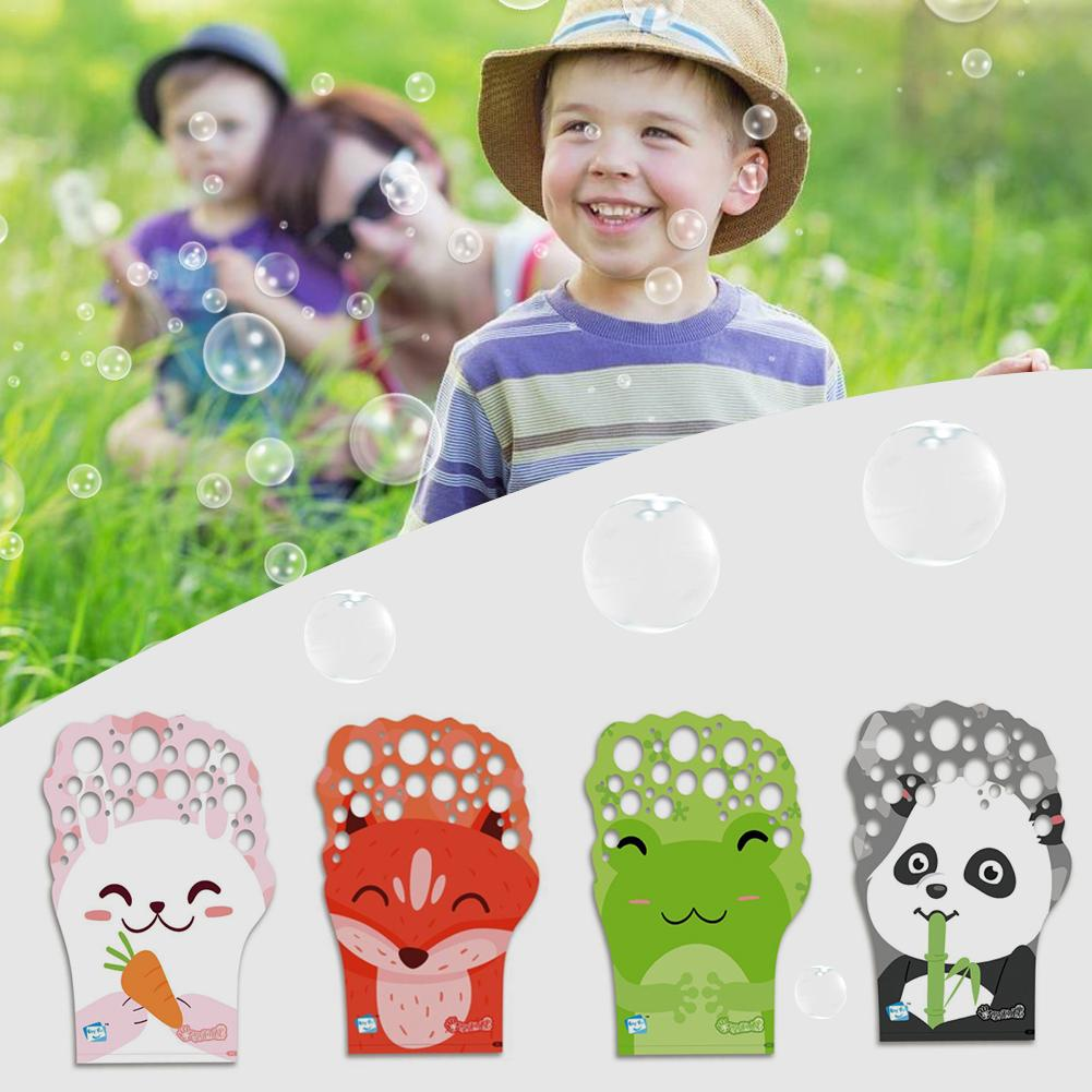 Summer Outdoor bubbles brinquedos birthday party decorations kids toys soap bubble speelgoed water magic gloves for Fun Sports