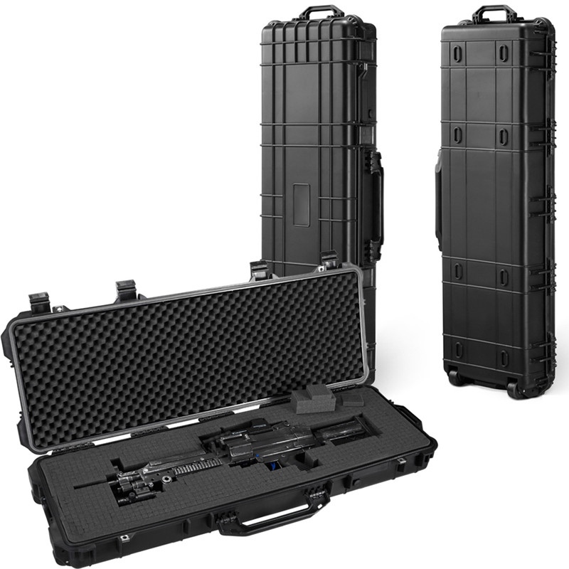 112x40x15cm Long Tool Case Large Tool Box Impact Resistant Sealed Waterproof Equipment Instrument Camera Case With Pre-cut Foam