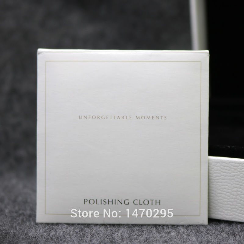 Wholesale 20Pcs Silver Polishing Cloth 10*10CM For Charms Bracelet Bangle Necklace Suitable Silver Jewelry