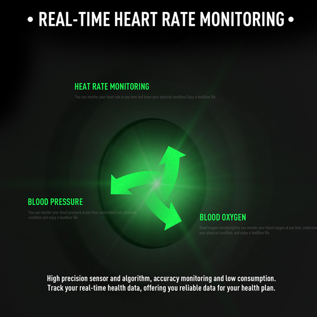 KEA Smart Watches Heart rate monitor KW02