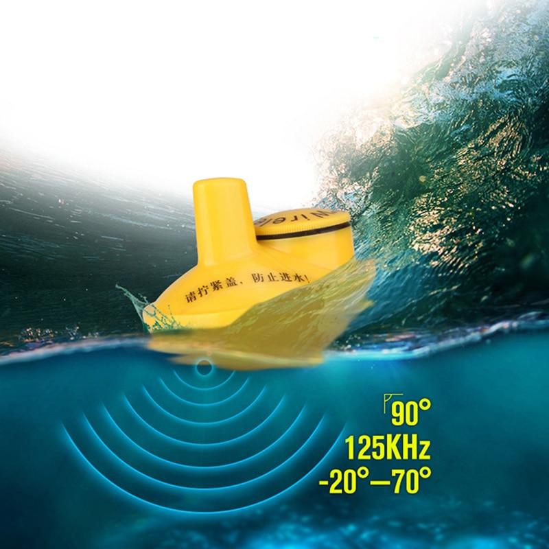 цена на Wireless Fish Finder Sonar Fish finder 40m Depth Range Ocean Lake Sea Fishing