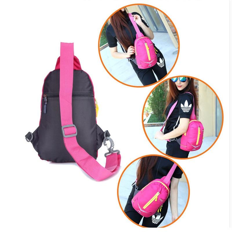 Pengwei Mode Pria Wanita Pecinta Dada Pack Crossbody Tas Rekreasi Tahan Air  Dada Pinggang Pack Bahu 4671a12508
