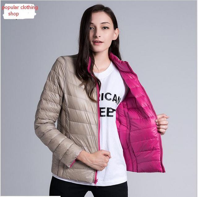 Aliexpress.com : Buy 2016 Winter Duck Down Jacket Women Coats ...