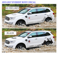 For Everest 2015 2017 Car Body Decal Stickers Car Styling High Quality No Fade No Falling