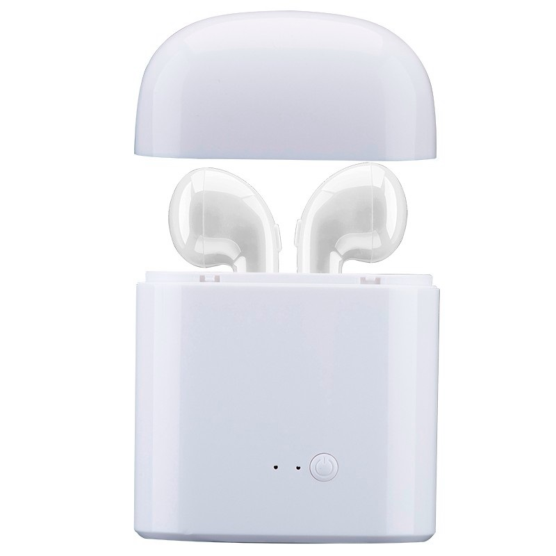 Brand ituf  wireless Bluetooth earphone for iPhone 7 7 plus Earbuds Headset Double mini Twins Earphones handfree For Android bluetooth earphone earbuds with car charger 2 in 1 driver mini wireless bluetooth headset earphone for iphone android smartphone