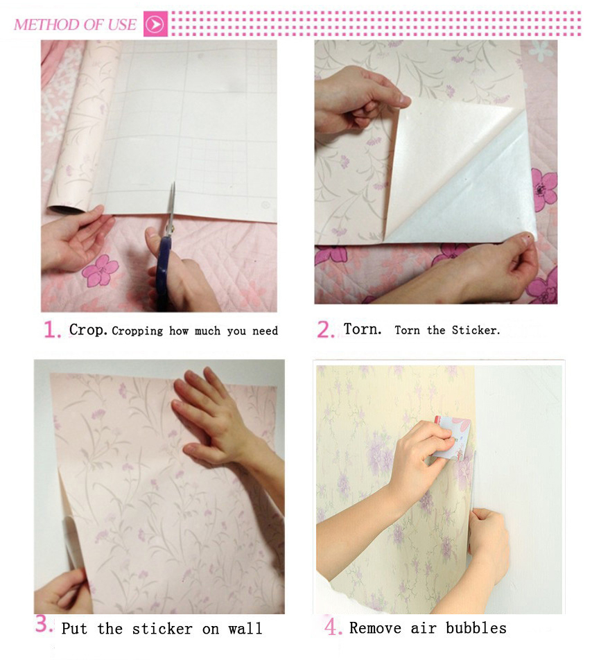 5M/10M Mosaic Tile Self adhesive Wallpaper Peel and Stick Contact ...