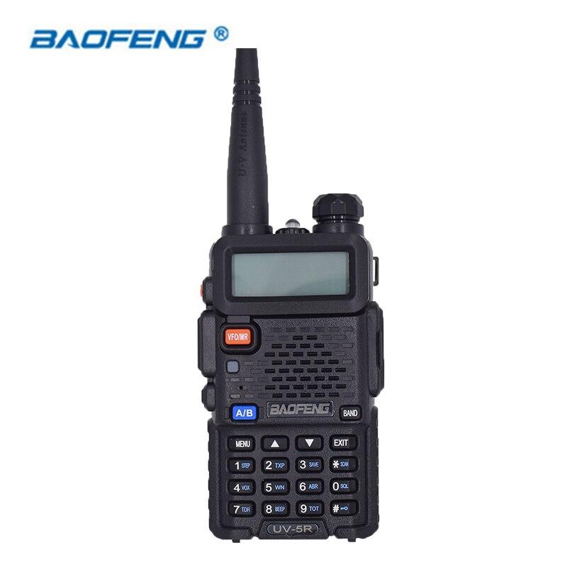Baofeng UV 5R Walkie Talkie Dual Band CB HAM Radio 2 Two Way Portable Transceiver VHF