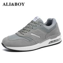c36b878e5377b 2018 Sneakers Breath Jogging For Men Sports Running Shoes Fly Weave Mens  Trainers Walking Sport Gym