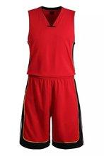 Blank Basketball Suit Team Name Logo Custom Usa Basketball Throwback Cheap Sleeveless Basketball Uniforms Red DIY