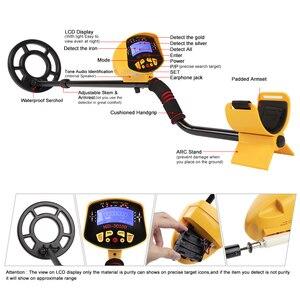 Image 3 - Détecteur de métaux souterrains Portable de haute sensibilité, recherche dor et de trésors, modèle MD 3010II