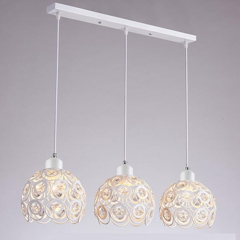 LukLoy Set Of 3 Glass Pendant Lights LED Kitchen Light LED Lamp Hanging Lamp Ceiling Lamps Bedroom Living Room Lighting Fixtures