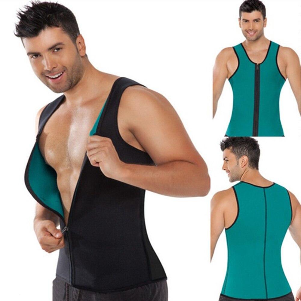 32555c622 Slimming Vest Neoprene Shaper Men Slimming Belt Body Shaper Corset ...