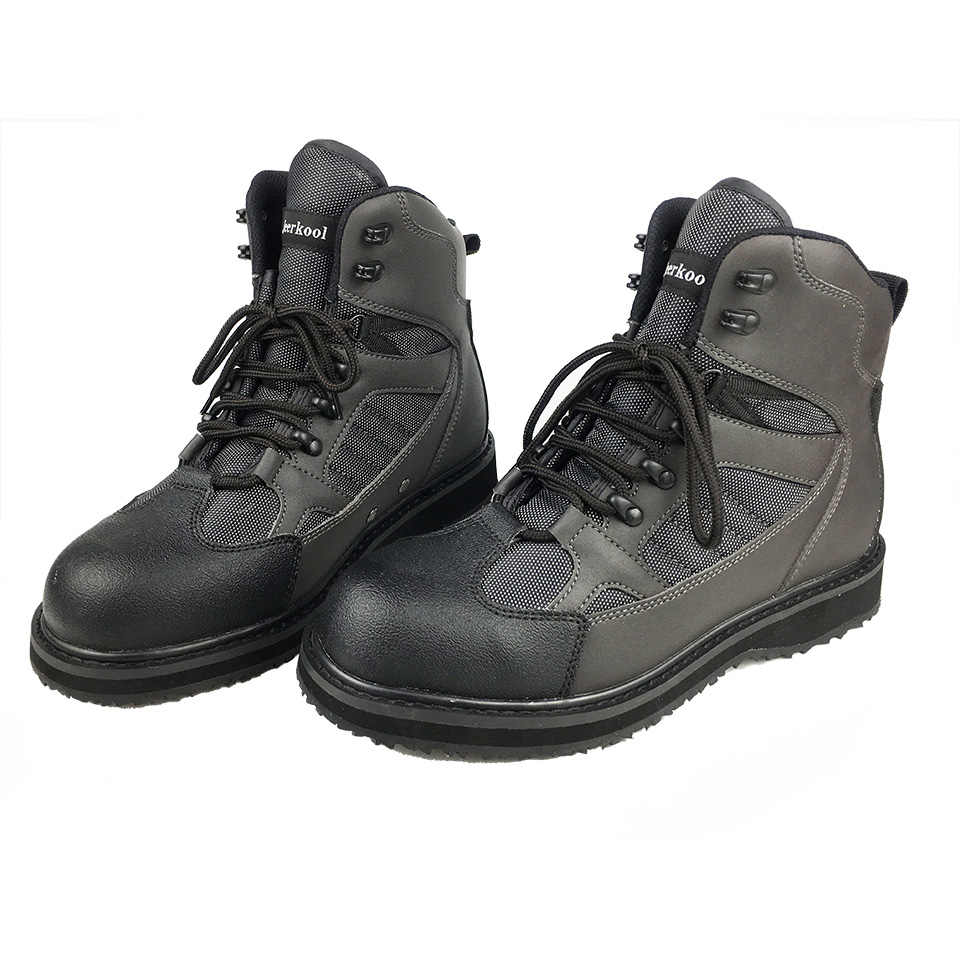 Fly Fishing Waders Outdoor Hunting Wading Shoes Upstream Anti Slippery Rubber Sole Rock Fishing Shoes The