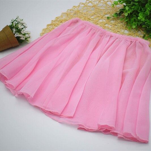 Summer Chiffon Elastic Ballet Dance Tulle Skirt for Girl Kids Tutu Ballerina Infantil Gymnastics Leotard for Sale