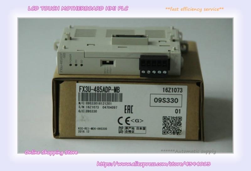 Nova Plc Módulo Fx3u-485adp-mb Fx3u-232adp-mb Fx3u-2hsy-adp Fx3u-4hsx-adp Fx3u-1psu-5v